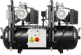 Cattani Tandem 3 Cyl Compressor with Dryer Pre-Filter